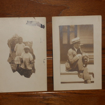 Some more old photos on post cards - Photographs