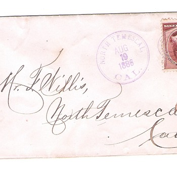 Other  Covers from the 1800's. - Stamps