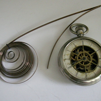 Waterbury Long-wind Series A (Parts Watch) - Pocket Watches