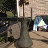 Bronze lamp beautiful piece