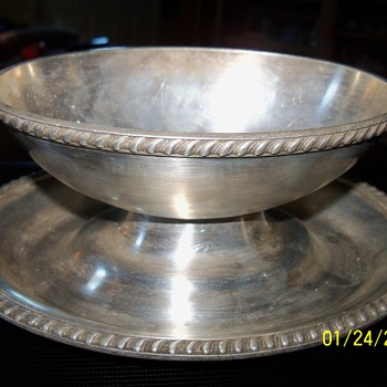 R. Wallace silver soldered bowl - Sterling Silver