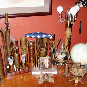 Trench Art Collectibles - Folk Art