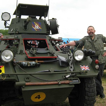 Daimler Ferret Restoration No.9 - Military and Wartime