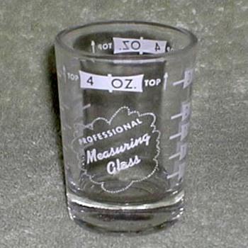 1960's - Libbey Bartender Glasses - Glassware