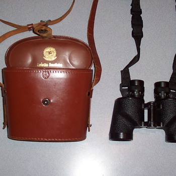General George Mather (US Army) DFV US Military M3-style binoculars (made in Brazil).