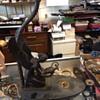 Bronze Aladdin Figural Lamp w/ two hallmarks.. Help please