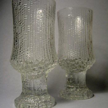 TAPIO WIRKKALA FOR IITTALA-FINLAND  - Art Glass