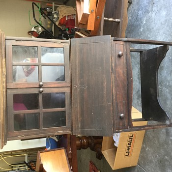 Antique Records Desk