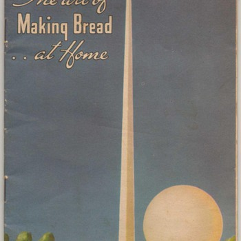 1939 - Making Bread - Maca Yeast - Books