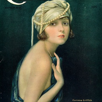 Actress Corrine Griffith Motion Picture Classic Magazine  September 1921 - Paper