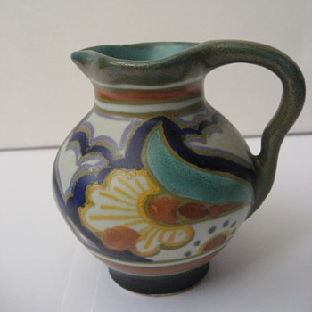 Gouda Zuid Holland Miniature Jug-What Pattern? - Pottery