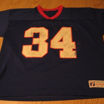 Signed Vintage Thurman Thomas Buffalo Bills Jersey #34