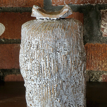 Great White Treasure.  Could it be Peter Voulkos? - Art Pottery
