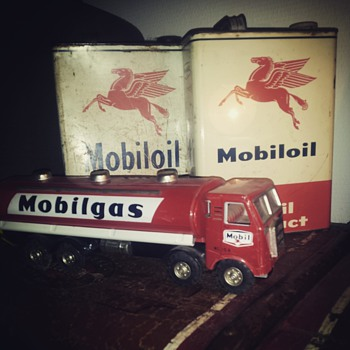 mobil oil and gas, small part of my collection - Petroliana
