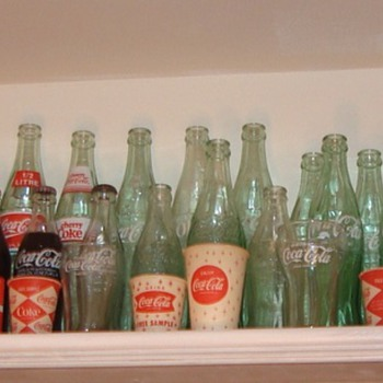 Coca-Cola bottles