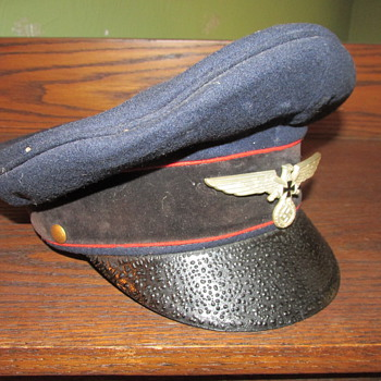 WWII German Visor cap - Military and Wartime