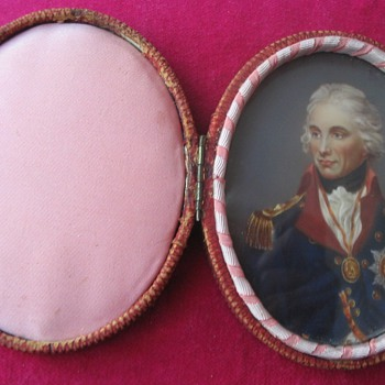 A PORTRAIT MINIATURE OF ADMIRAL HORATIO NELSON