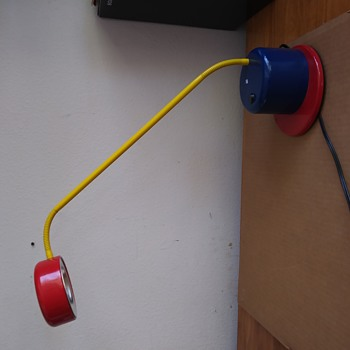 HELP IDENTIFY! POST MODERN 80's German Desk Lamp