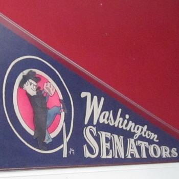 Washington Senators Final Year Pennant