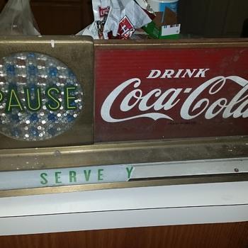 Coca Cola Counter Top Display