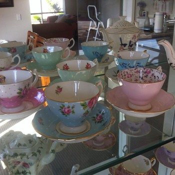 Birthday Tea Cups - China and Dinnerware