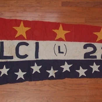 WW2 Landing Craft Infantry (LCI) 220 Pennant  c. 1945 - Military and Wartime
