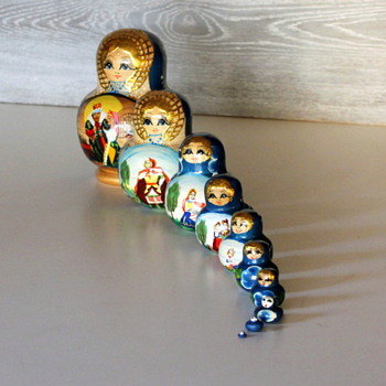 Russian Matryoshka Dolls 10pc - Dolls