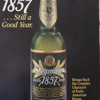 Stegmaier 1857 Poster