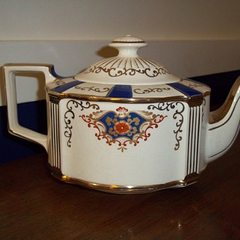 Teapot, made in England