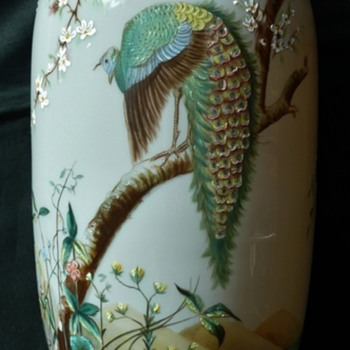 Fritz Heckert Bird Vases