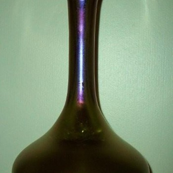 Loetz Bronce Glatt c. 1900 - Art Glass