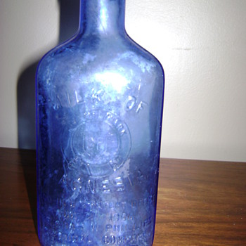 1906 Milk of Magnesia bottle - Bottles