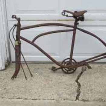 Antique Bike Frame - Outdoor Sports