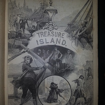 treasure island - Books