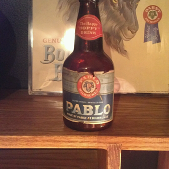 Pabst Prohibition Pablo Bottle - Breweriana