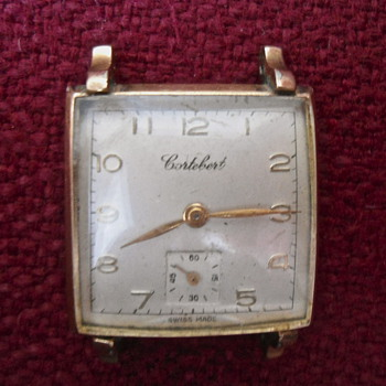 Vintage Cortebert Watch 17 jewels Swiss made