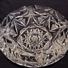 Cut glass cigar ashtray