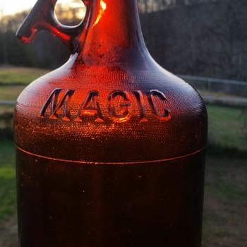 bottle i found in back yard of old wv cabin.