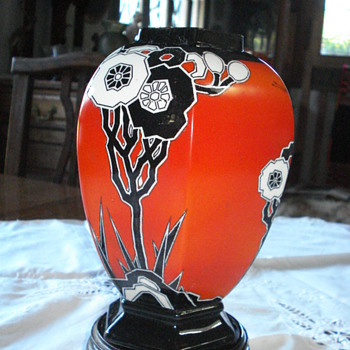 Art deco Carlton Ware vase - Art Deco