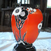 Art deco Carlton Ware vase