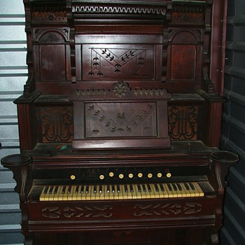 McCormick Pump Organ- - Music