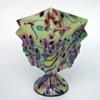 Kralik Milefiori knuckle bowl vase