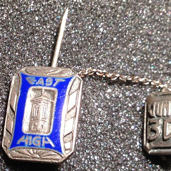 1930 East High School pin