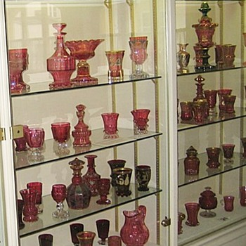 HARRACH - The Fabulous Bohemian Glassworks - Passau Museum Views - Art Glass