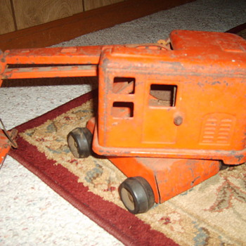 Antique Toy Digger - Model Cars