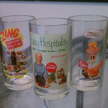 Coke Glasses I have never seen - Coca-Cola