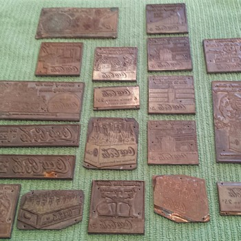 Coca Cola metal tags