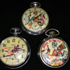 Three Versions Of Buck Rogers Pocket Watch