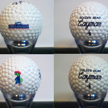 The Jack Nicklaus Golden Bear Cayman Signature Golf Ball
