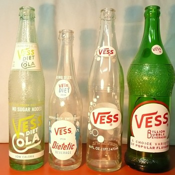 Even more Vess Bottles - Bottles